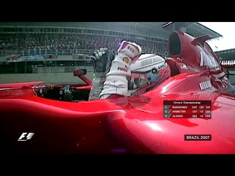 Raikkonen Wins Three-Way Title Battle in Sao Paulo - 2007 Brazilian Grand Prix