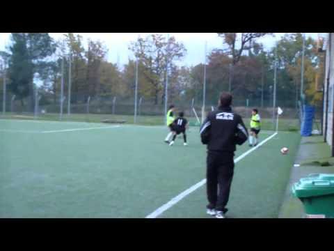 ASCOLI CALCIO Vs  SSD F.GIUNTI ( Scuola calcio AC Milan )