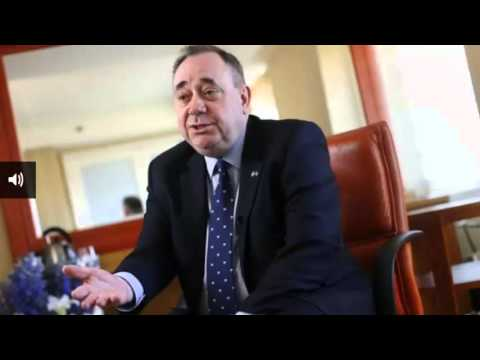 Alex Salmond says Margaret Thatcher 'set ball rolling' for Scots parliament