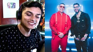 [Reacción] Daddy Yankee & Anuel AA - Adictiva (Video Oficial) Themaxready