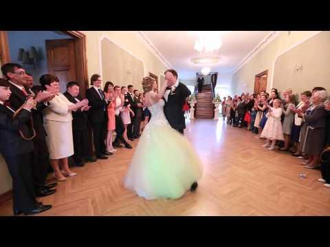 Pierwszy Taniec-walc Wiedeński. Pałac Konary 30.05.2015