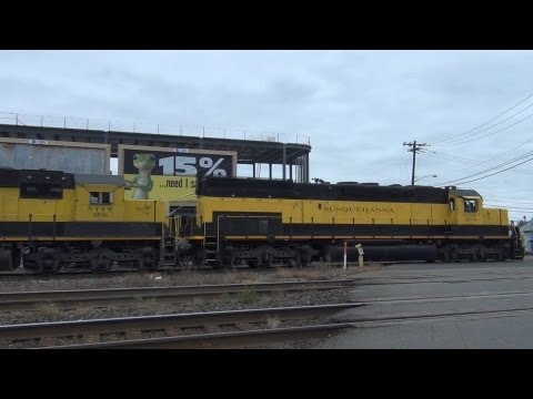 October Railfanning on the New York, Susquehanna and Western Railroad