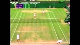 Wimbledon 2003 - Clijsters/Sugiyama vs. Davenport/Raymond