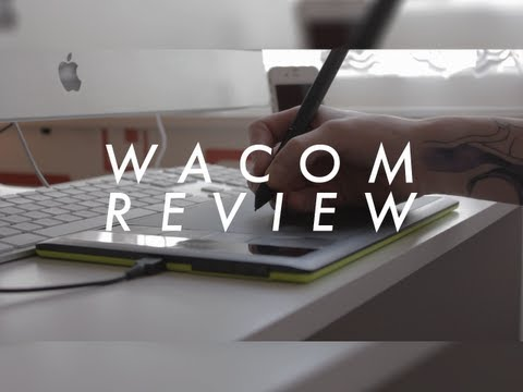 Wacom Graphics Tablet Review: Bamboo Pen & Touch