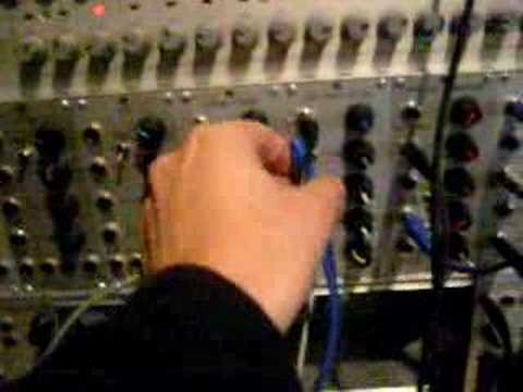 "Pink Floyd ""On the Run""  / testing a modular synth #1"