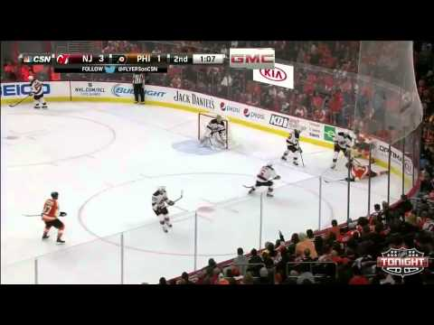 Game 2. Philadelphia Flyers vs New Jersey Devils  (9 october 2014)