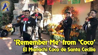'Remember Me' from 'Coco' performed in Mexico at Epcot