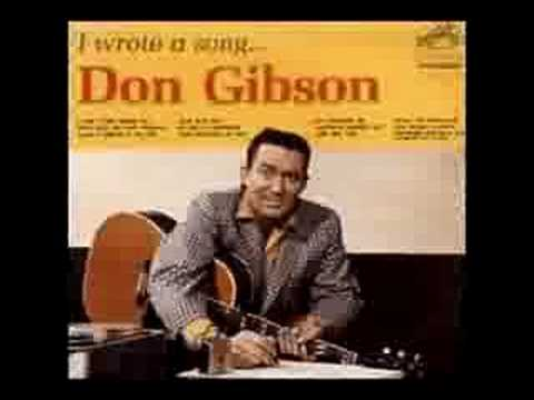 Don Gibson - Anything New Gets Old