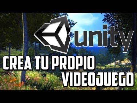 Crea tú propio Videojuego Unity 3D
