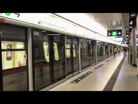 [觀塘綫延綫]何文田掉頭列車 及 黃埔開出列車 先後駛入何文田站