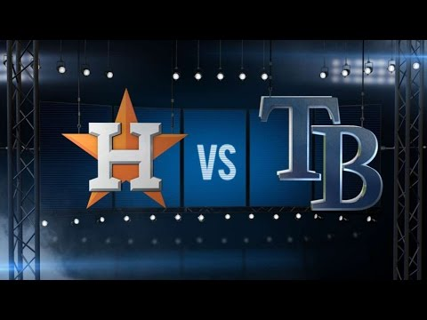 7/11/15: Rays' three-run 2nd fuels shutout of Astros