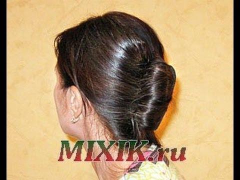 Прически с твистером для волос ракушка