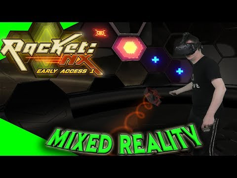 Racket: Nx - Mixed Reality Aufnahme mit TPCast - Die volle Technik-Bandbreite! [Virtual Reality]