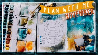 PLAN WITH ME: Bullet Journal Monatsübersicht + VERLOSUNG // JustSayEleanor ♡