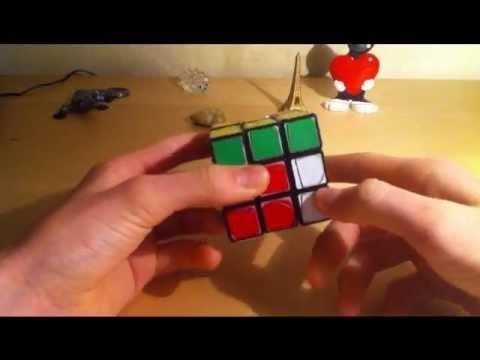 Vidéo comment faire un Rubik's Cube 3x3x3 méthode facile