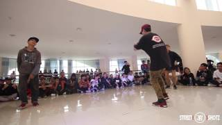 5 STYLE - 5 ELEMENTS JAM 2017 | FREESTYLE 2VS2 | TOP 16 | QUYỀN & ??? vs FREDO & ZENDER