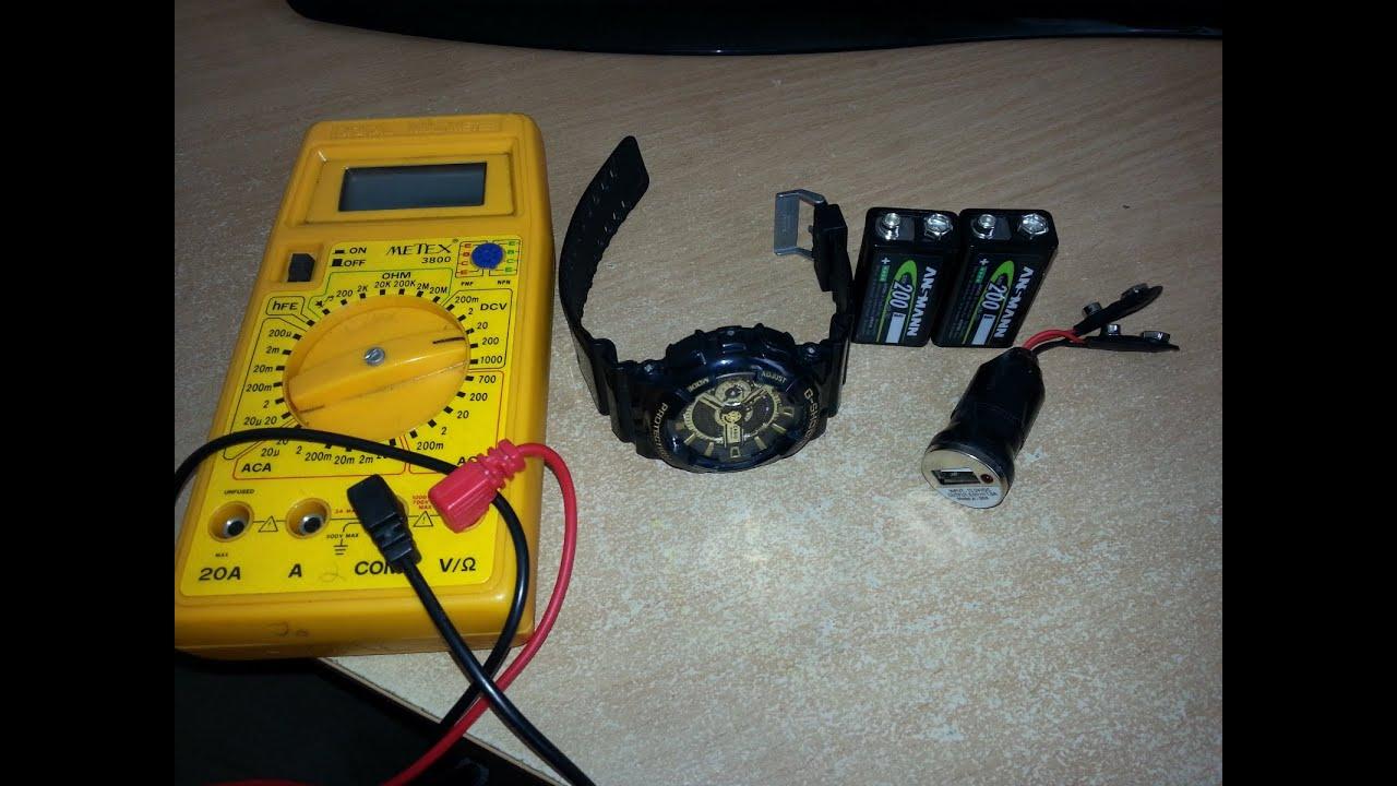 Переносное зарядное устройство своими руками