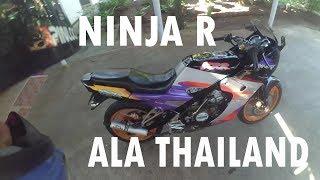 REVIEW KAWASAKI NINJA R MODIF SSR THAILAND