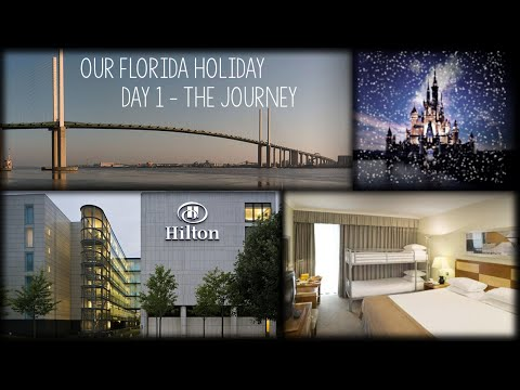 ★ ☆ OUR CHRISTMAS FLORIDA HOLIDAY! ▌Day 1 Part 1 - The Journey ★ ☆