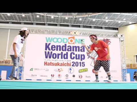 KWC 2015 World Champion - 1st Place Run - Wyatt Bray - Kendama USA