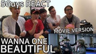 Download Lagu [PUNCH ME] WANNA ONE (워너원) - Beautiful (Movie Ver.) 5Guys MV REACT Gratis STAFABAND