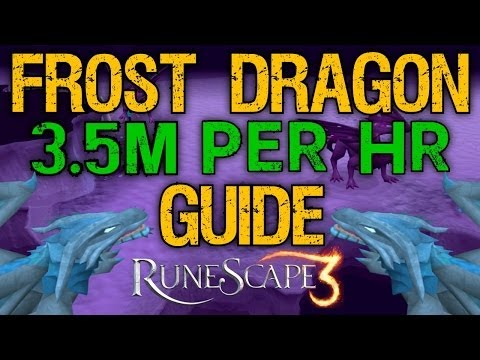 Runescape 3 – ULTIMATE Frost Dragon Guide 2014 – 3.5M+/Hour & 300k XP/Hour! – Melee/Ranged