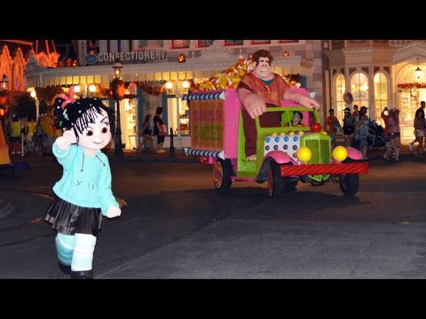 Wreck-It Ralph & Vanellope Added to Boo -To-You Parade at Mickey's Not-So-Scary Halloween Party
