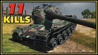 AMX 50 B - 11 Kills - World of Tanks Gameplay