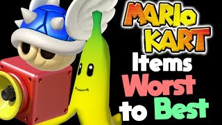 Ranking Every Item in Mario Kart