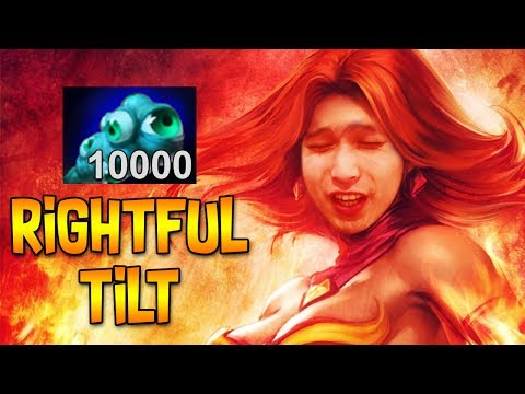 THE MOST RIGHTFUL TILT ◄ SingSing Moments Dota 2 Stream