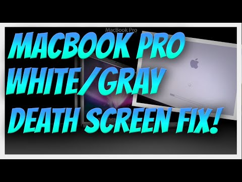 How to: Two solutions for the MacBook Pro White/Gray Logo Screen of Death. 2014 AppleCare Expires..