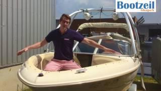 Speedboot: installatiefilm kuipzeil met drukkers