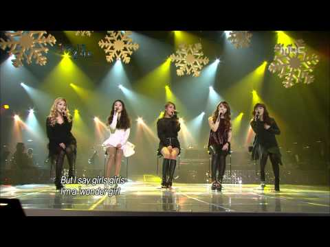 Wonder Girls - Girls Girls,  -  , Beautiful Concert 20120103