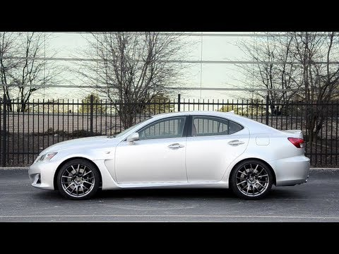2013 Lexus IS-F - WINDING ROAD POV Test Drive