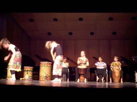 2014-2015 Wirth Center West African Drummers & Dancers