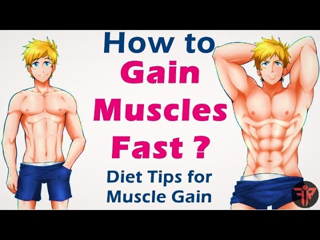 How to gain muscle fast   bodybuilding muscle gain diet tips    Hindi   Fitness Rockers