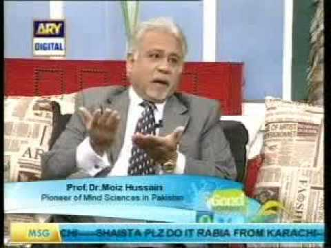 dr Moiz Hussain on Ary