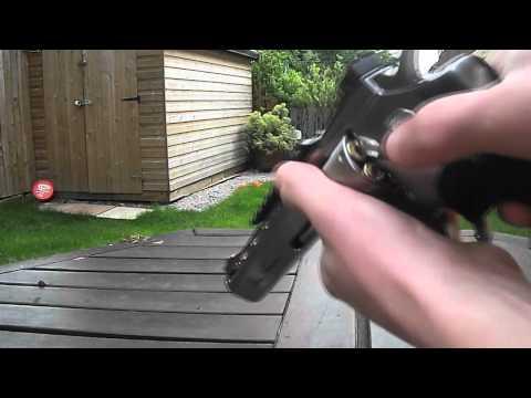 ASG Dan Wesson 6 inch Silver CO2 Revolver