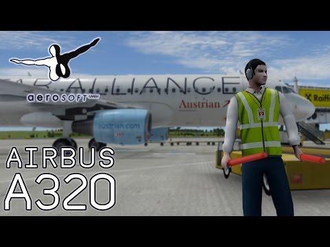 Aerosoft Airbus A320 Full Flight Tutorial (AUA Vienna to Heathrow OS461) [FSX/P3D]