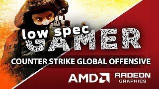 Super low CSGO Graphics on AMD GPUs