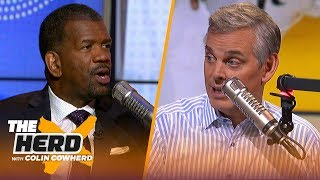 Rob Parker reiterates Steph Curry is 'overrated,' talks Zion's future & Lakers | NBA | THE HERD