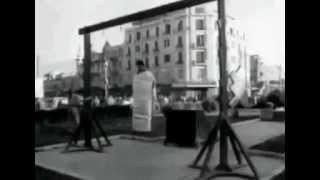 """فيديو نادر لإعدام الجاسوس االصهيوني """"ايلي كوهين"""""""