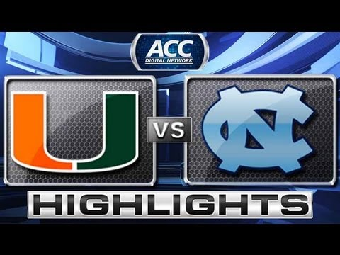 Miami vs North Carolina Baseball Highlights - ACC Baseball Championship