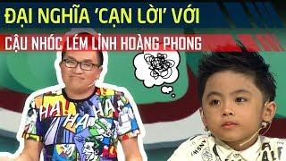 Đại Nghĩa 'cạn lời' với cậu bé Hoàng Phong bấm chuông nhưng không trả lời | Bản Lĩnh Nhóc Tỳ Tập 11