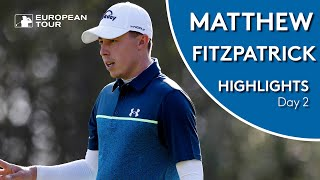 Matthew Fitzpatrick Highlights | Round 2 | Scandinavian Invitation