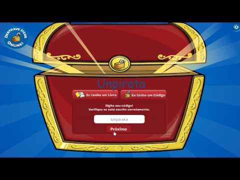 Club Penguin - Código Roupa de Pirata - Disponível para todos - Novembro de 20