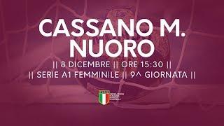 Serie A1F [9^]: Cassano Magnago - Nuoro 37-23