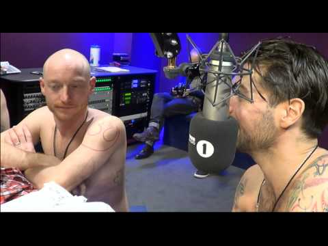 Biffy Get Topless With Greg James