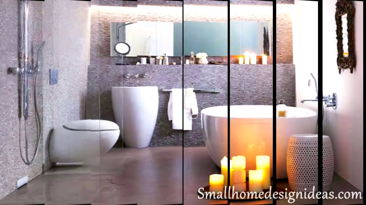 Small bathroom design ideas 2014 youtube for Small bathroom designs no toilet