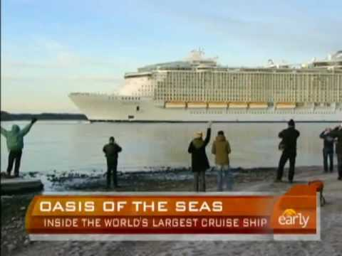 Royal Caribbean Oasis of the Seas by CBS NEWS